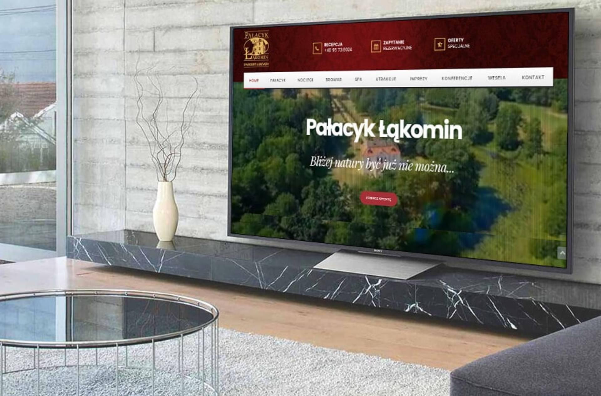 ROAN24 Pałacyk Łąkomin Strona Internetowa