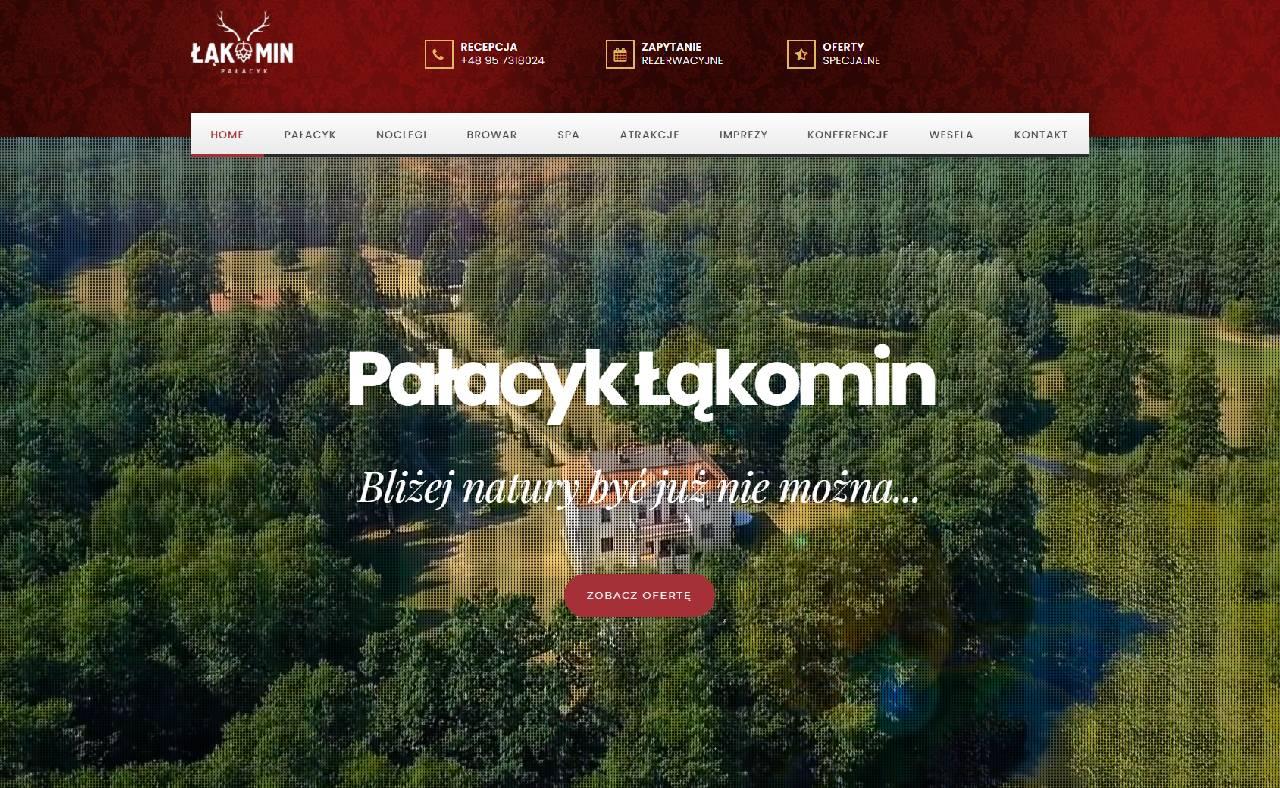 ROAN24 Pałacyk Łąkomin Strona Internetowa HOME