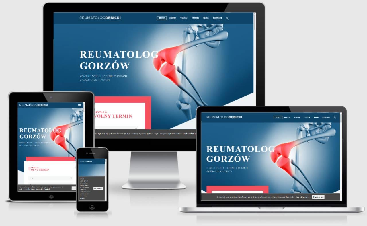 Roan24 Reumatolog Debicki.pl Responsywność