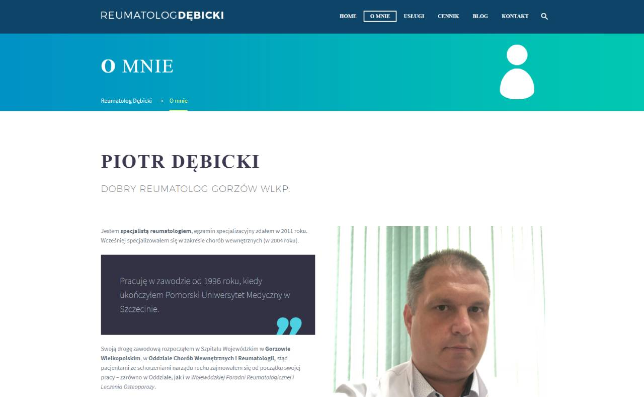 Roan24 Reumatolog Debicki.pl O Mnie