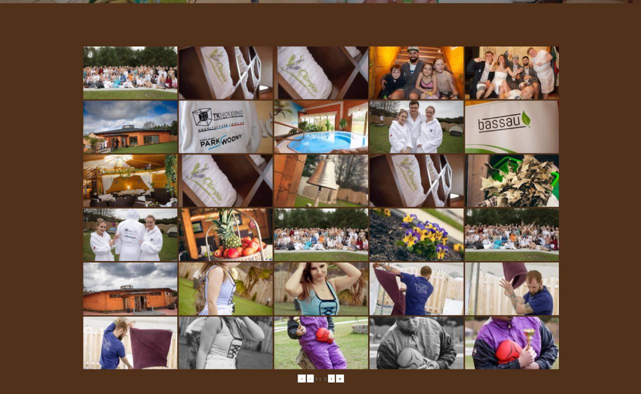 ROAN24 Sauna Olimpia Strona Internetowa Galeria