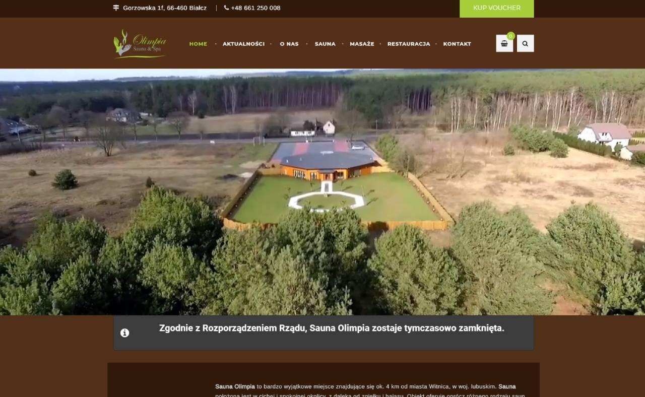 ROAN24 Sauna Olimpia Strona Internetowa HOME