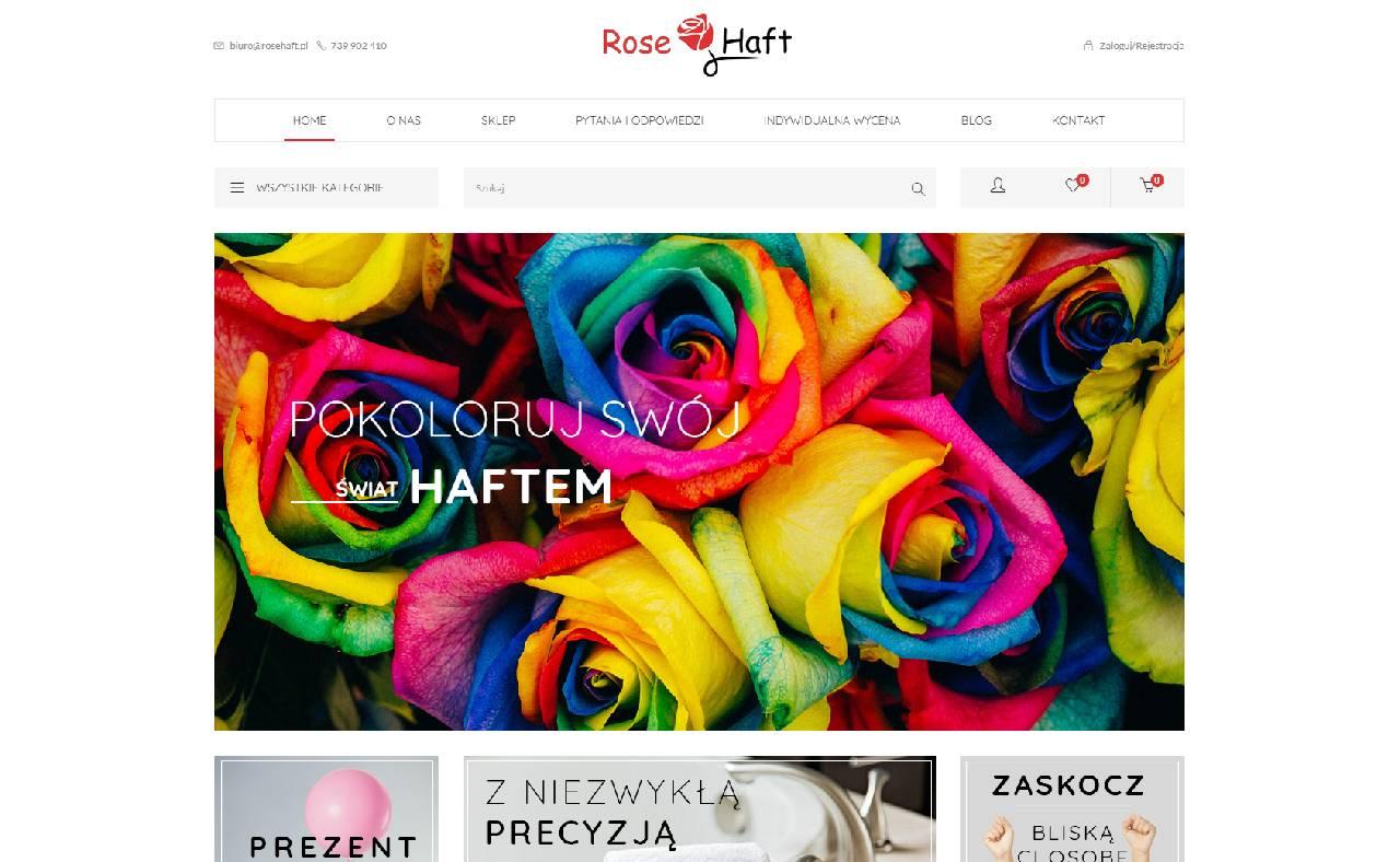 ROAN24 Rose Haft Sklep Internetowy HOME