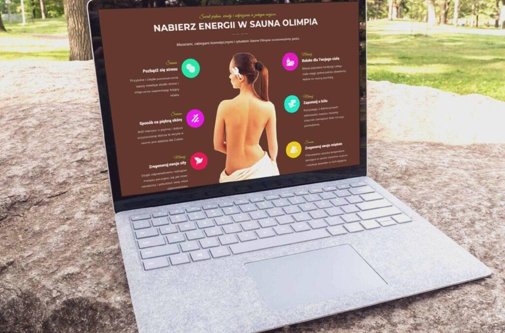 ROAN24 Sauna Olimpia Strona Internetowa