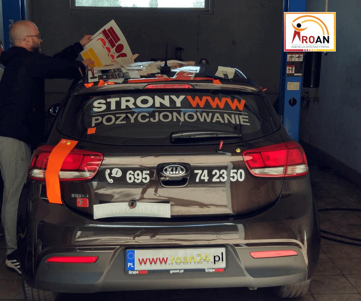 Rozpoznawalnosc Reklama Samochodowa Roan24.pl