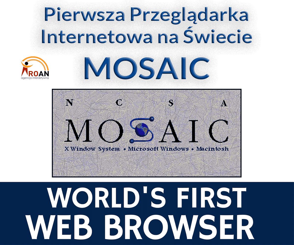Erster Internet-Browser der Welt Mosaic Roan24 Gorzow